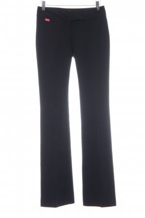 Miss Sixty Pantalon de costume noir style classique