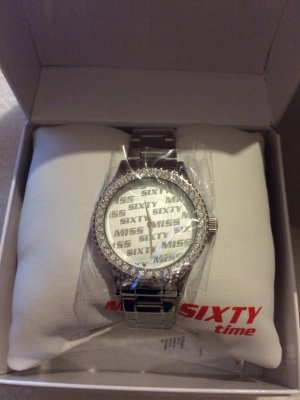 Miss Sixty Watch silver-colored