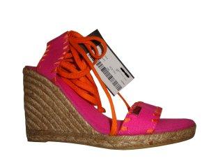 Miss Sixty Plateauzool sandalen veelkleurig