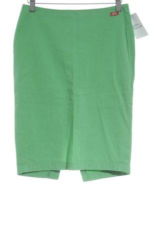 Miss Sixty Bleistiftrock grün schlichter Stil
