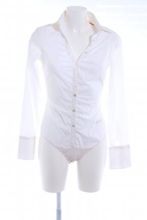 Miss Sixty Bodysuit Blouse white elegant