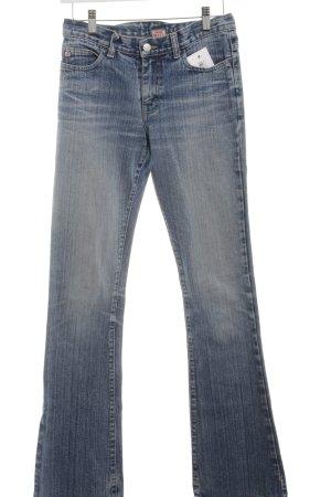Miss Sixty Boot Cut Jeans blassblau-blau schlichter Stil