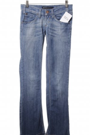 Miss Sixty Boot Cut Jeans blau Casual-Look