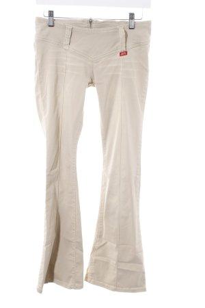 Miss Sixty Boot Cut Jeans creme 90ies-Stil