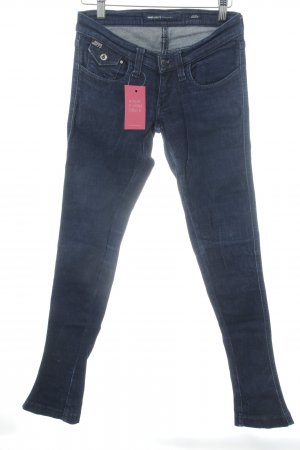 Miss Sixty Boot Cut Jeans dunkelblau Casual-Look