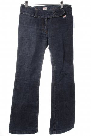 Miss Sixty Boot Cut Jeans dunkelblau meliert Casual-Look