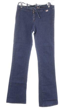 Miss Sixty Boot Cut Jeans dunkelblau schlichter Stil