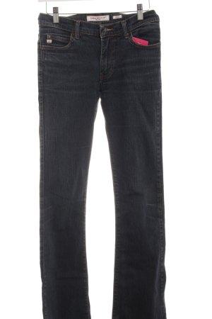 Miss Sixty Boot Cut spijkerbroek donkerblauw simpele stijl
