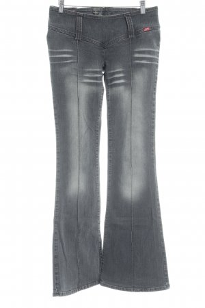 Miss Sixty Boot Cut Jeans dark grey washed look