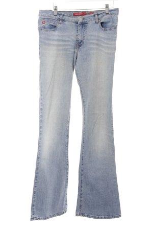 Miss Sixty Boot Cut Jeans hellblau Casual-Look
