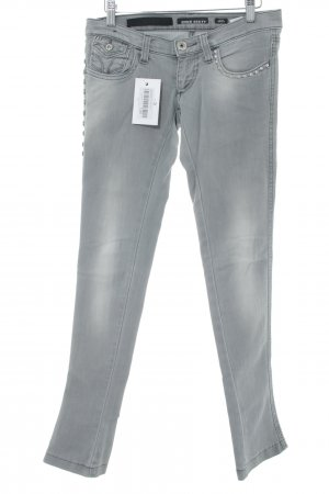 Miss Sixty Boot Cut Jeans hellgrau Bleached-Optik
