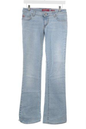 Miss Sixty Boot Cut Jeans himmelblau-hellblau Street-Fashion-Look