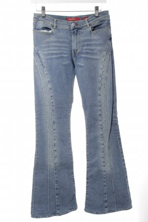 Miss Sixty Boot Cut Jeans kornblumenblau Casual-Look