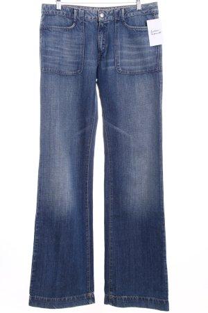 Miss Sixty Boot Cut Jeans kornblumenblau Casual-Look