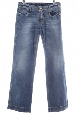 Miss Sixty Boot Cut Jeans stahlblau Casual-Look