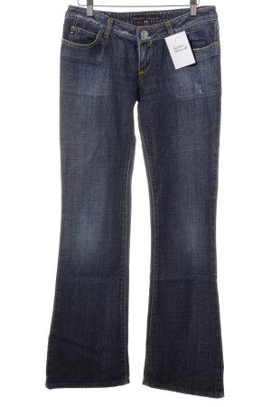 Miss Sixty Boot Cut Jeans stahlblau Urban-Look
