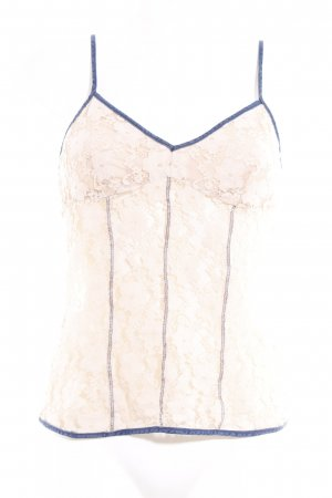 Miss Sixty Bustier nude-donkerblauw feest stijl