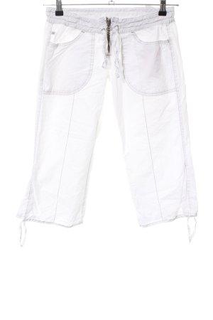 Miss Sixty Pantalone Capri bianco stile casual