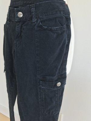 Miss Sixty Cargo Jeans dG 27 XS grau schwarz