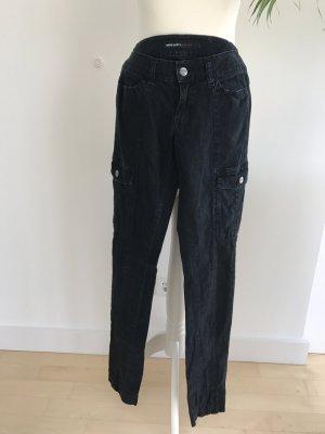 Miss Sixty Cargohose Jeans W27 dG 34 schwarz-grau