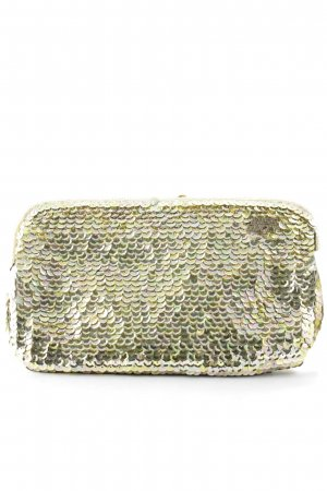 Miss Sixty Clutch sandbraun-goldfarben Party-Look