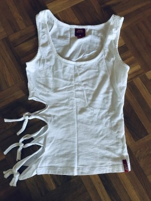 Miss Sixty Cut Out Top white