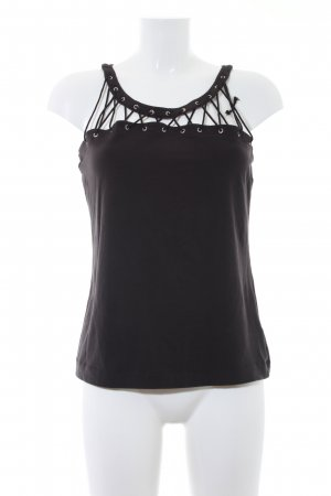 Miss Sixty Cut-Out-Top schwarz Party-Look