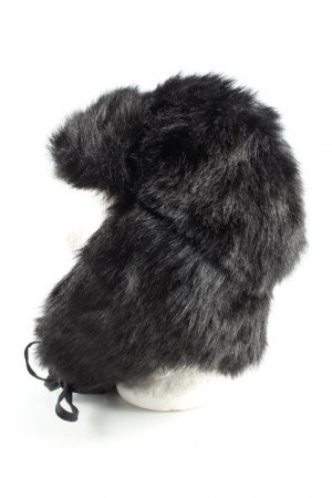 Miss Sixty Fur Hat black casual look