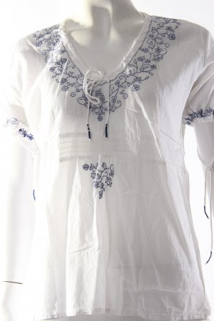 Miss Sixty Folklore-Bluse weiß