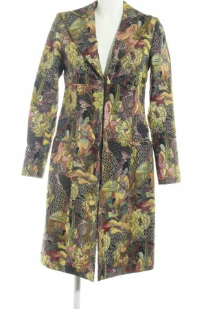 Miss Sixty Frock Coat yellow abstract pattern extravagant style