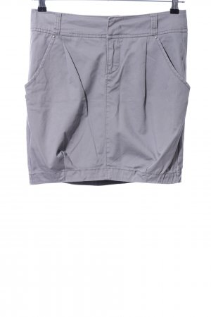 Miss Sixty Flared Skirt light grey casual look