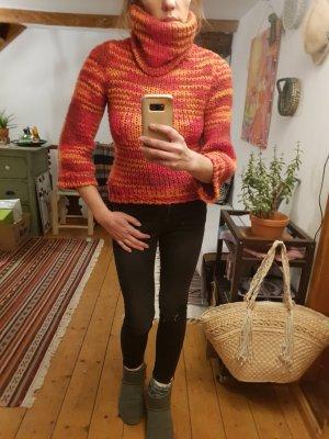 Miss Sixty Grof gebreide trui oranje-rood