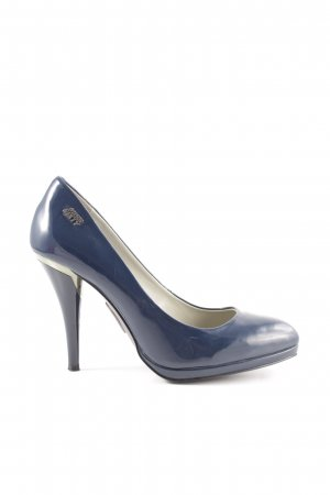 Miss Sixty High Heels blau Business-Look