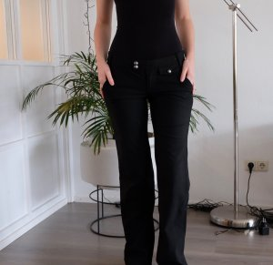 Miss Sixty Flares black polyester