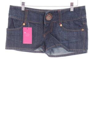 Miss Sixty Hot Pants dark blue casual look