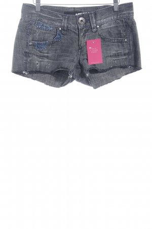 Miss Sixty Hot Pants grau Used-Optik