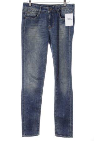 Miss Sixty Pantalone a vita bassa blu stile casual
