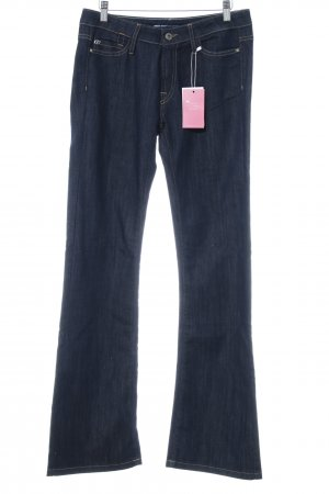 Miss Sixty Low-Rise Trousers dark blue casual look