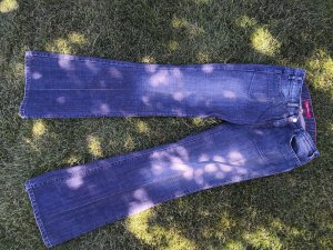 Miss Sixty Low Rise jeans staalblauw