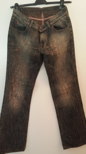 Miss Sixty Jeans Bootcut W32 *Super Destroyed Look!*