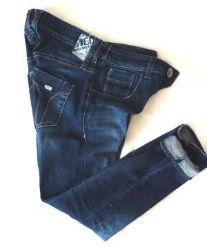 Miss Sixty Jeans boyfriend bleu tissu mixte