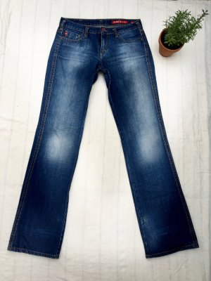 """MISS SIXTY Jeans, """"Mary J"""", dunkelblau mit Waschung, Size 29, Casual-Look"""