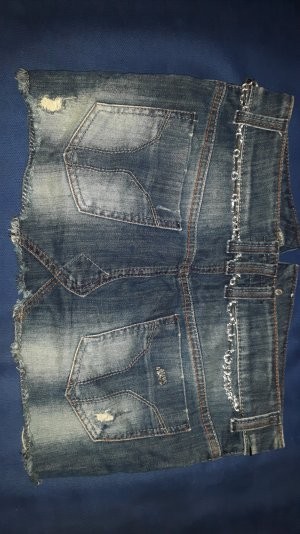 Miss Sixty Jeans Minirock Gr. S Washed Look
