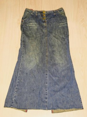 Miss Sixty Jeans-Rock mit Schlitz (Used Look) Gr. S