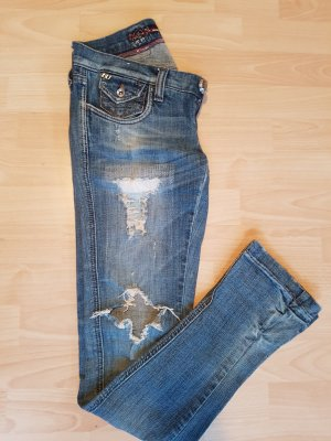 Miss Sixty Jeans stretch bleu pâle