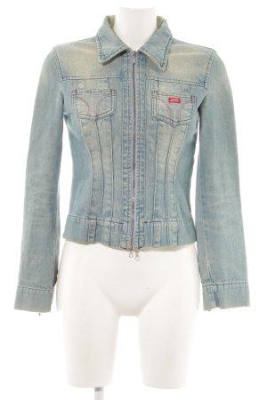 Miss Sixty Jeansjacke blau Jeans-Optik