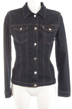 Miss Sixty Jeansjacke dunkelblau Jeans-Optik