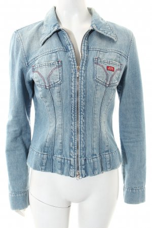 Miss Sixty Jeansjacke hellblau Street-Fashion-Look