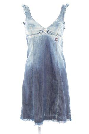 Miss Sixty Jeanskleid blau Casual-Look