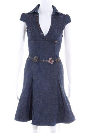 Miss Sixty Jeanskleid dunkelblau Casual-Look